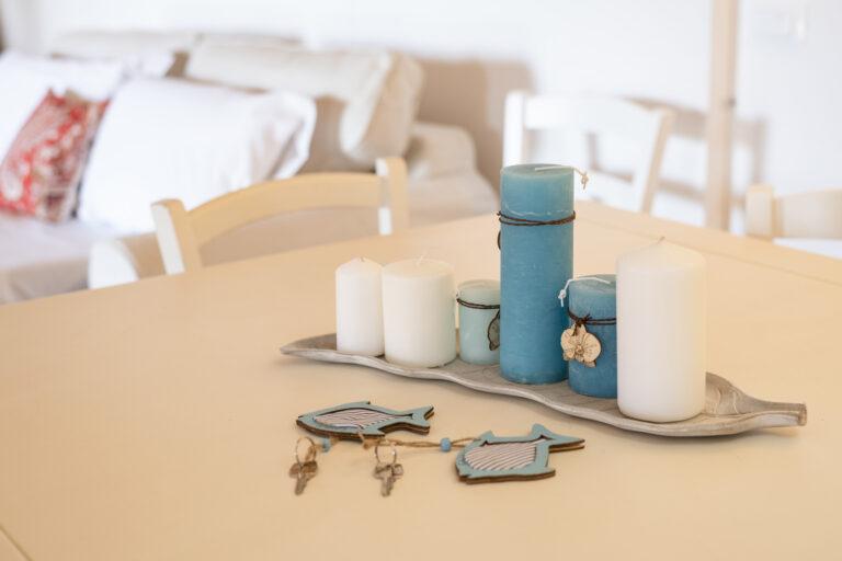 Tavolo del soggiorno